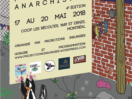 """""""Flowers"""" at the Anarchistes Films Festival! We continue to resist!"""