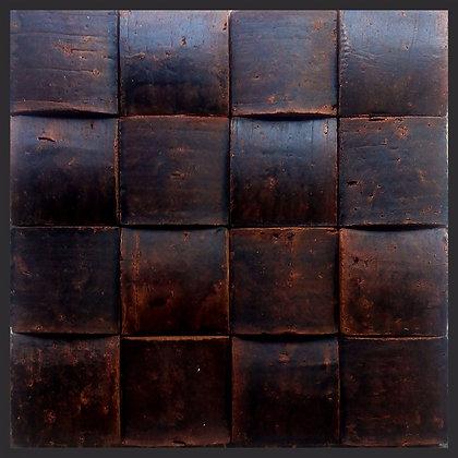 BOLEADO 01 15x15 PINTADO MADEIRA NEGRA