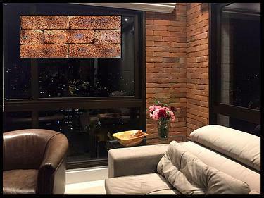Tijolo Aparente Rústico 3A 24x6,5x1,6 cm