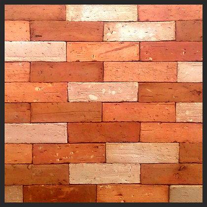 TIJOLINHO NATURAL 4A 24x6,5x1,8