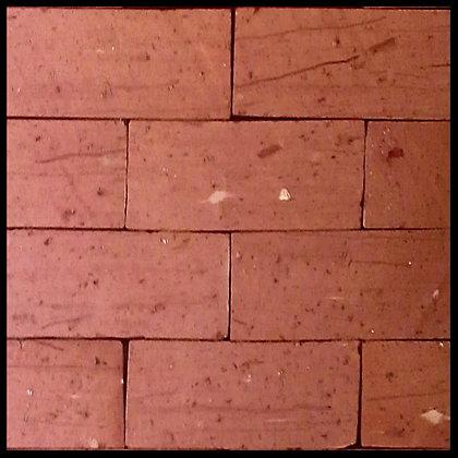 TIJOLINHO APARENTE TEAR VERMELHO 24,5x11x2,5