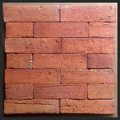 TIJOLINHO NATURAL VERMELHO 24x6,5x1,8