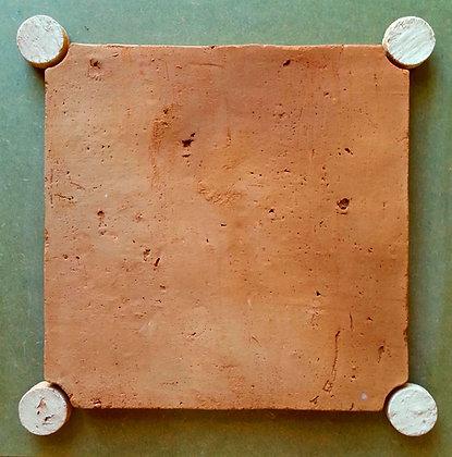 SOLUM 02  NATURAL VERMELHO TPL 25x25 cm