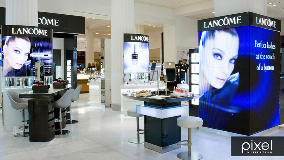 Cosmetic Retail - In-store digital media - Lancome 3.jpg