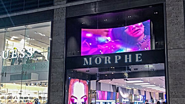 Cosmetics Retail - Digital Store Windows