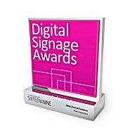 Digital Signage Awards trophy
