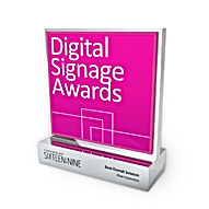 Digital Signage Awards trophy