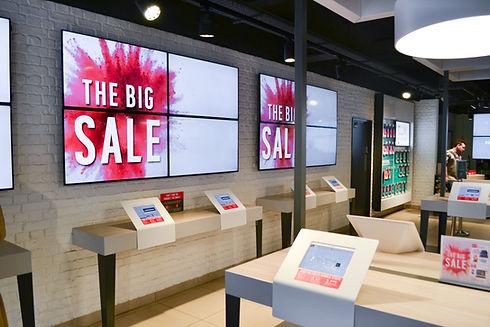 Argos catalogue touchscreens and digital