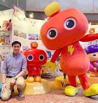 Nick 機器人力克 Orson Li Hong Kong Licensing Show.j