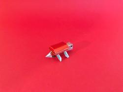 Turtle Red | Ori Alu