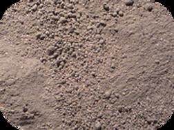 Mezcla tierra y arena