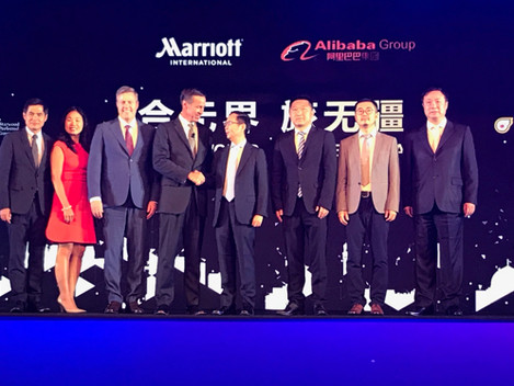 Marriott to grow outbound Chinese share with Alibaba JV
