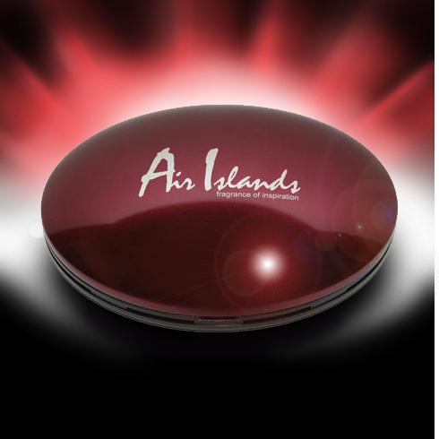 Air Island красный (плоский футляр)