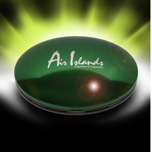 Air Island зеленый (плоский футляр)