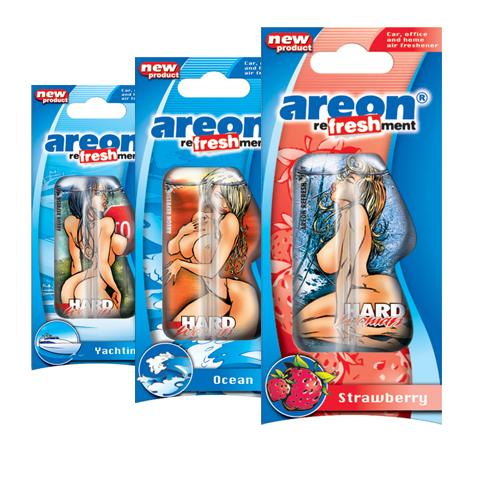 Areon LIQUID девочки 1 плакат ассорти 18 шт. по 56 руб.