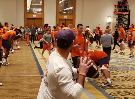 If you were Dabo, would you have trained in a hotel?