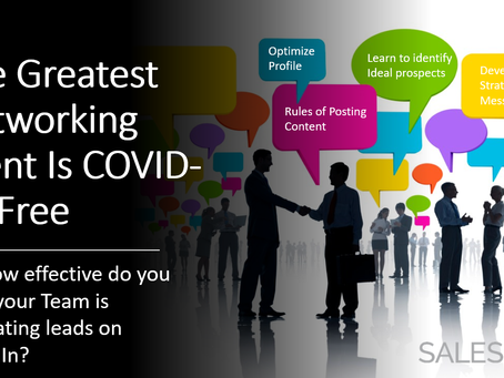The World's Biggest Networking Event is COVID-19 Free