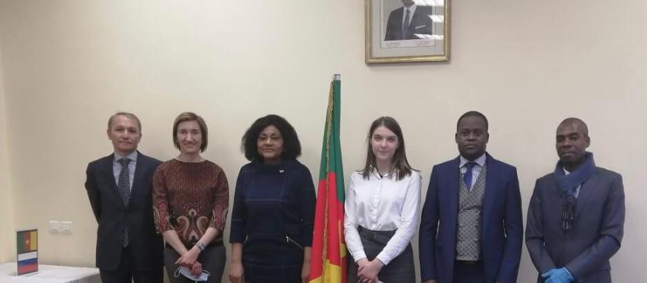 АЭССА и посольство Камеруна договорились развивать программы в области бизнеса и образования