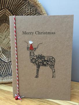 Kudu Christmas Card