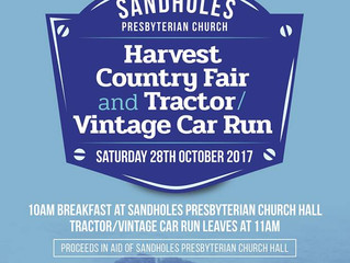Harvest Country Fayre and Tractor & Vintage Car Run
