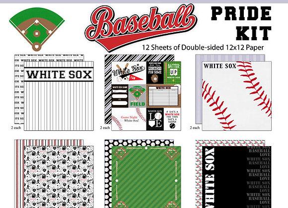 WHITE SOX Page Kit 12X12