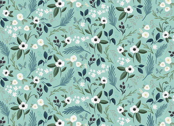 Lovely Floral 12x12 Scrapbook Paper, Home Again