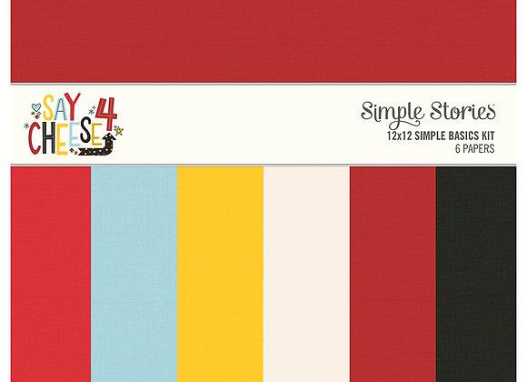 Say Cheese 4 Simple Basics Kit, Simple Stories
