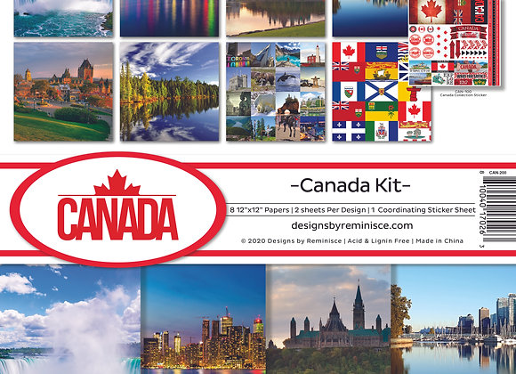 Canada 12X12 Collection