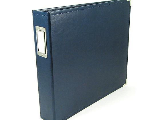 Navy  12x12 3 Ring Binder Scrapbook Album