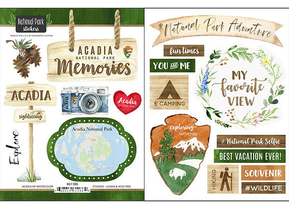 Acadia National Pk Sticker