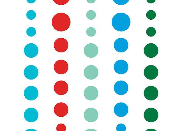 A Very Merry Christmas Enamel Dots