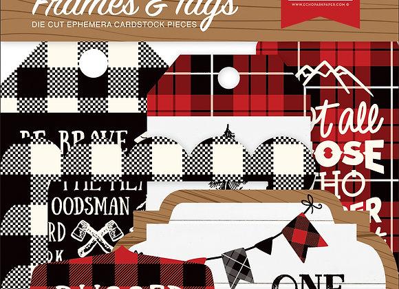 Little Lumberjack Frames & Tags