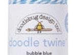 Bubble Blue Doodle Twine