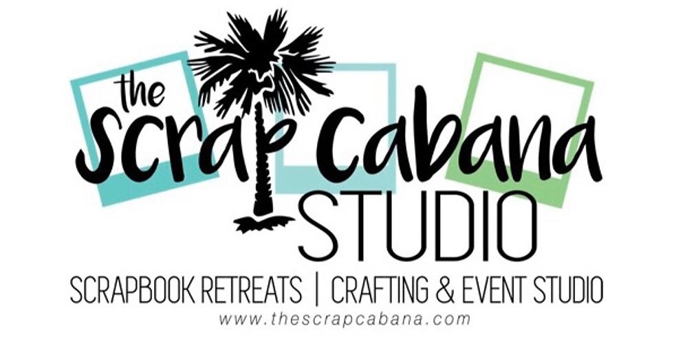*FULL* March 22, 23, 24, 2019 Studio Weekend Scrapbook Retreat