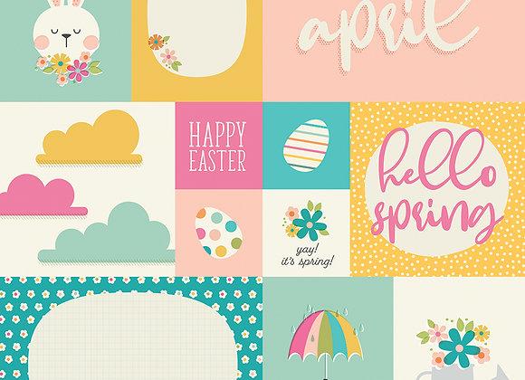 April 12x12 Designer Cardstock Paper Simple Stories 2020