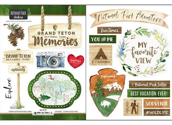 Grand Teton National Pk Sticker