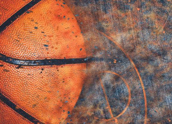 Full Court Press 12x12 Paper Basketball