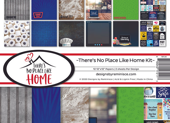 There's No Place Like Home 12X12 Collection Kit