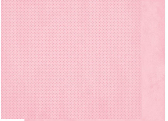 Tutu Double Dots 12X12 2-Sided Cardstock Paper BoBunny