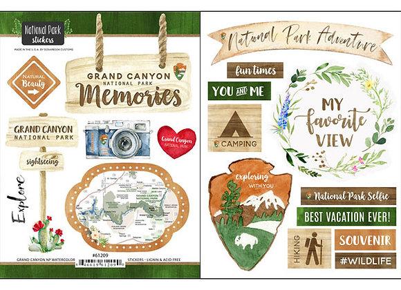 Grand CanyonNational Pk Sticker