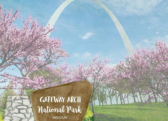 Gateway Arc National Park 12x12