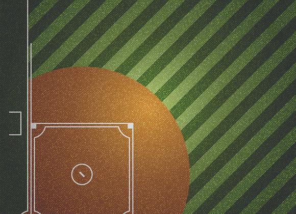 Ball Field 12x12 Paper GD