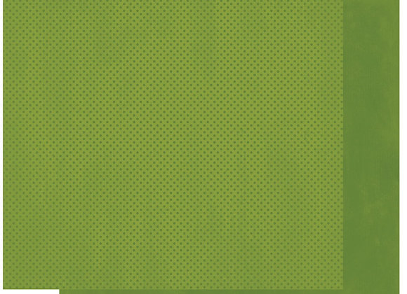 Clover Double Dots 12X12 2-Sided Cardstock Paper BoBunny
