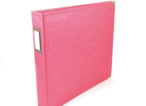 Strawberry 12x12 3 Ring Binder Scrapbook Album