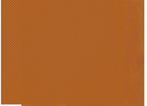 Rust Double Dots 12X12 2-Sided Cardstock Paper BoBunny