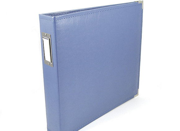 Country Blue  12x12 3 Ring Binder Scrapbook Album