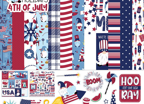 Gnome for July 4th Collection Pack