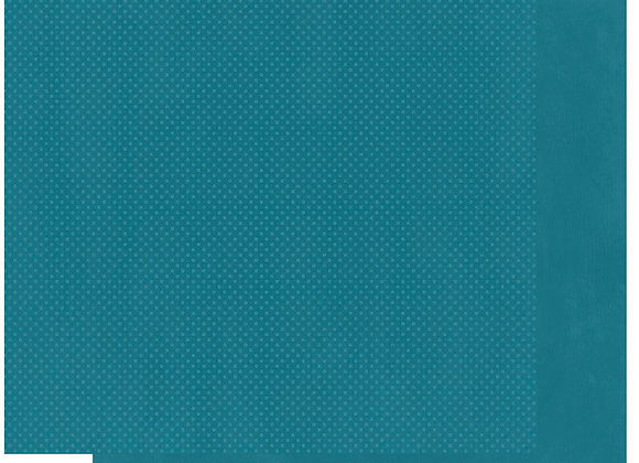 Slate Double Dots 12X12 2-Sided Cardstock Paper BoBunny