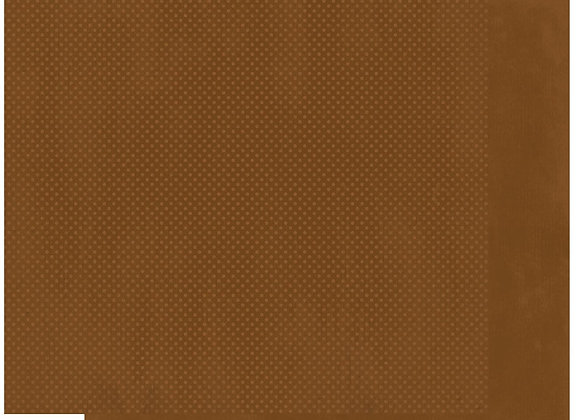 Chocolate Double Dots 12X12 2-Sided Cardstock Paper BoBunny