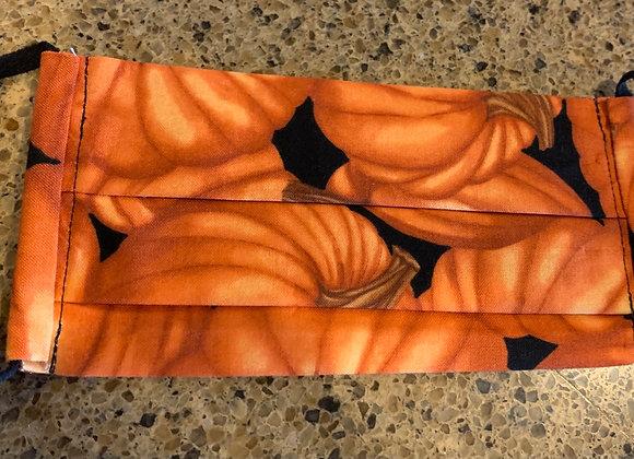 Large Pumpkins Cotton Mask